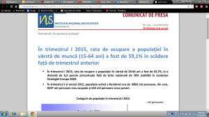 de ce crește somajul în România